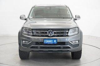 2017 Volkswagen Amarok 2H MY18 TDI550 4MOTION Perm Highline Grey 8 Speed Automatic Utility.