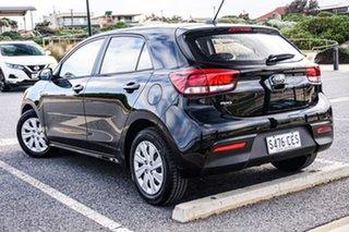 2020 Kia Rio YB MY20 S Black 4 Speed Sports Automatic Hatchback.