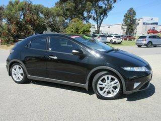 2011 Honda Civic FK MY11 SI Black 5 Speed Automatic Hatchback.