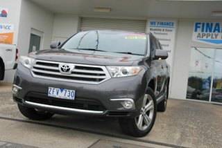 2012 Toyota Kluger GSU45R MY11 Upgrade KX-S (4x4) Grey 5 Speed Automatic Wagon.