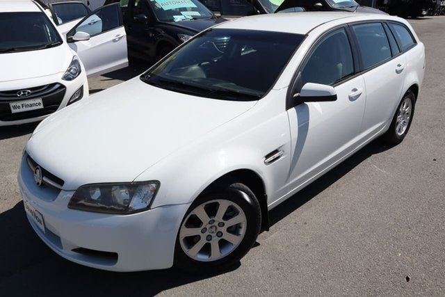 Used Holden Commodore VE MY09 Omega Sportwagon Moorooka, 2008 Holden Commodore VE MY09 Omega Sportwagon White 4 Speed Automatic Wagon