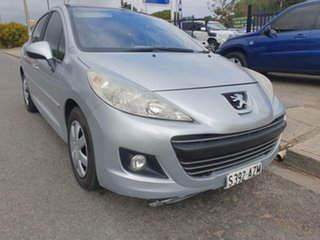 2010 Peugeot 207 A7 Series II MY10 XT Silver 4 Speed Sports Automatic Hatchback.