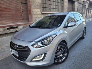 2013 Hyundai i30 GD Active Tourer Silver 6 Speed Sports Automatic Wagon.