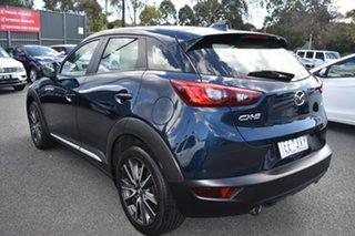 2015 Mazda CX-3 DK2W7A Akari SKYACTIV-Drive Blue 6 Speed Sports Automatic Wagon.