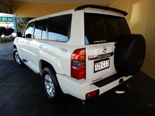 2013 Nissan Patrol GU Series 9 ST (4x4) White 4 Speed Automatic Wagon.