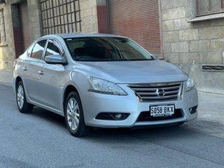 2013 Nissan Pulsar B17 ST-L Silver 1 Speed Constant Variable Sedan.
