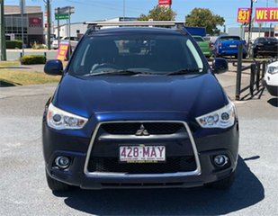 2010 Mitsubishi ASX XA Aspire Blue 6 Speed Constant Variable Wagon.