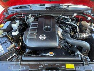 2013 Nissan Navara D40 S6 MY12 ST Red 6 Speed Manual Utility
