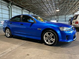 2008 Holden Commodore VE MY09 SV6 Blue 5 Speed Sports Automatic Sedan.