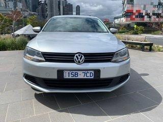 2014 Volkswagen Jetta 1B MY14 118TSI DSG Comfortline Silver 7 Speed Sports Automatic Dual Clutch.