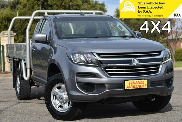 Used Holden Colorado RG MY17 LS Enfield, 2016 Holden Colorado RG MY17 LS Grey 6 Speed Sports Automatic Cab Chassis