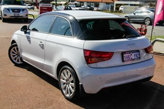 2013 Audi A1 8X MY13 Attraction Sportback S Tronic White 7 Speed Sports Automatic Dual Clutch.