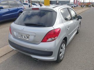 2010 Peugeot 207 A7 Series II MY10 XT Silver 4 Speed Sports Automatic Hatchback