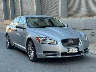 2010 Jaguar XF X250 MY10 Luxury Silver 6 Speed Sports Automatic Sedan.