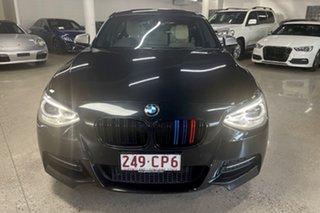 2014 BMW 1 Series F20 MY1113 M135i Black 8 Speed Sports Automatic Hatchback.