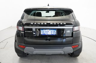 2018 Land Rover Range Rover Evoque L538 MY18 SE Narvik Black 9 Speed Sports Automatic Wagon