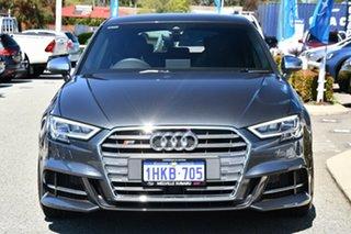 2020 Audi S3 8V MY20 Sportback S Tronic Quattro Grey 7 Speed Sports Automatic Dual Clutch Hatchback