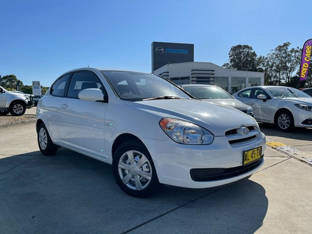 Used Hyundai Accent LC MY04 GL Glendale, 2006 Hyundai Accent LC MY04 GL White 4 Speed Automatic Hatchback