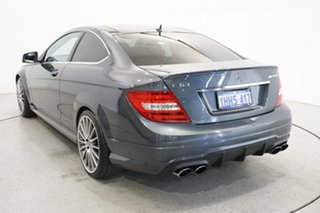 2011 Mercedes-Benz C-Class C204 MY12 C63 AMG SPEEDSHIFT MCT Grey 7 Speed Sports Automatic Coupe.