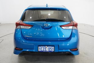 2016 Toyota Corolla ZRE182R SX S-CVT Blue 7 Speed Constant Variable Hatchback