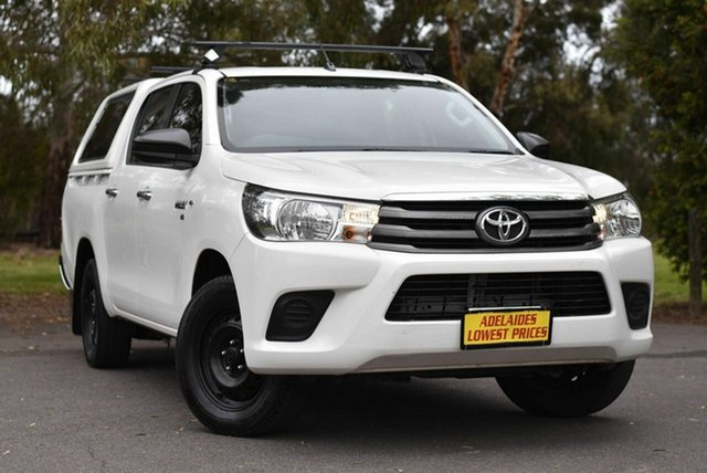 Used Toyota Hilux GGN120R SR Double Cab 4x2 Melrose Park, 2015 Toyota Hilux GGN120R SR Double Cab 4x2 White 6 Speed Sports Automatic Utility