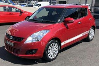 2013 Suzuki Swift FZ RE.2 Red 4 Speed Automatic Hatchback.