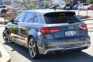2020 Audi S3 8V MY20 Sportback S Tronic Quattro Grey 7 Speed Sports Automatic Dual Clutch Hatchback.