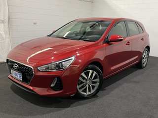 2018 Hyundai i30 PD2 MY18 Active Fiery Red 6 Speed Sports Automatic Hatchback