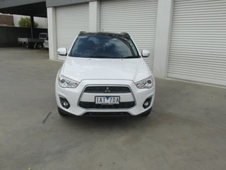 2013 Mitsubishi ASX XB MY13 Aspire White 6 Speed Sports Automatic Wagon.