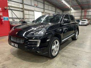 2009 Porsche Cayenne 9PA MY10 Diesel Black 6 Speed Sports Automatic Wagon.