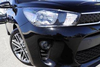 2019 Kia Rio YB MY20 Sport Aurora Black Pearl 6 Speed Automatic Hatchback.