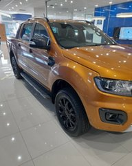 2021 Ford Ranger PX MkIII 2021.75MY Wildtrak Saber 10 Speed Sports Automatic Double Cab Pick Up.
