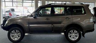 2013 Mitsubishi Pajero NW MY14 VR-X Brown 5 Speed Sports Automatic Wagon