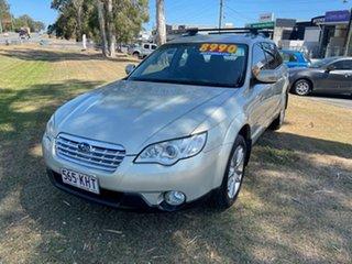 2007 Subaru Outback B4A MY07 AWD Silver 4 Speed Sports Automatic Wagon.