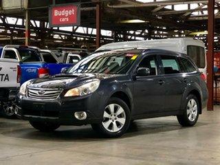 2012 Subaru Outback B5A MY12 2.5i AWD Premium Dark Grey 6 Speed Manual Wagon.