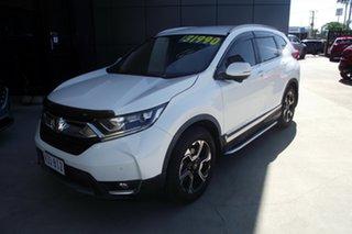 2015 Honda CR-V RM Series II MY17 VTi White 5 Speed Automatic Wagon