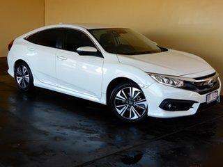 2018 Honda Civic MY18 VTi-L White Continuous Variable Sedan