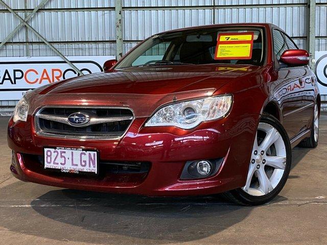 Used Subaru Liberty B4 MY08 Luxury Edition AWD Rocklea, 2008 Subaru Liberty B4 MY08 Luxury Edition AWD Red 5 Speed Manual Sedan