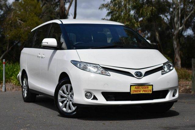 Used Toyota Tarago ACR50R GLi Melrose Park, 2018 Toyota Tarago ACR50R GLi White 7 Speed Constant Variable Wagon