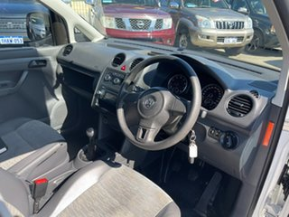 2012 Volkswagen Caddy 2K MY12 TSI160 White 5 Speed Manual Van