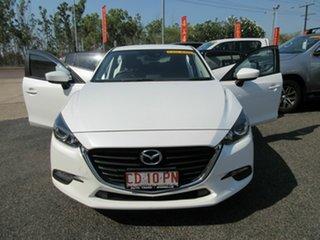 2018 Mazda 3 BN5476 Neo SKYACTIV-MT Sport White 6 Speed Manual Hatchback.