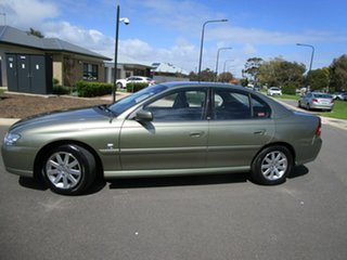 2003 Holden Berlina VY II Green 4 Speed Automatic Sedan