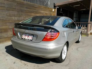 2004 Mercedes-Benz C-Class CL203 MY2003 C180 Kompressor Sports Silver 5 Speed Automatic Coupe