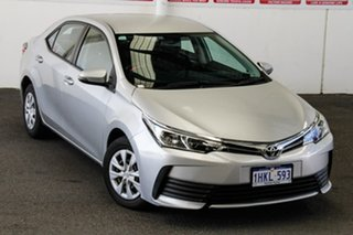 2018 Toyota Corolla ZRE172R MY17 Ascent Silver Ash 7 Speed CVT Auto Sequential Sedan.