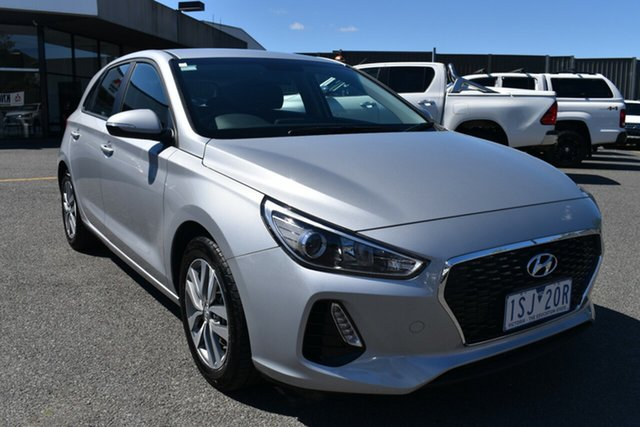 Used Hyundai i30 PD2 MY20 Active Wantirna South, 2020 Hyundai i30 PD2 MY20 Active Billet Silver 6 Speed Sports Automatic Hatchback