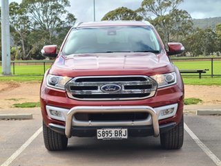 2015 Ford Everest UA Trend Red 6 Speed Sports Automatic SUV.