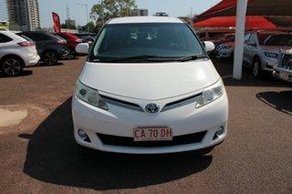 2013 Toyota Tarago ACR50R MY13 GLi Glacier White 7 Speed Automatic Mini Bus.