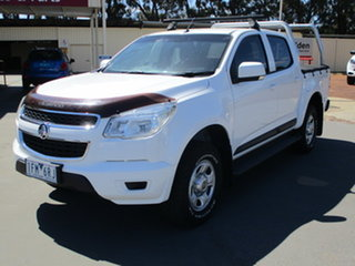 2015 Holden Colorado RG MY16 LS (4x4) White 6 Speed Automatic Dual Cab.
