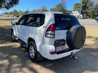 2008 Toyota Landcruiser Prado KDJ120R GX White 5 Speed Automatic Wagon