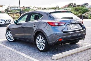 2015 Mazda 3 BM5438 SP25 SKYACTIV-Drive Grey 6 Speed Sports Automatic Hatchback.